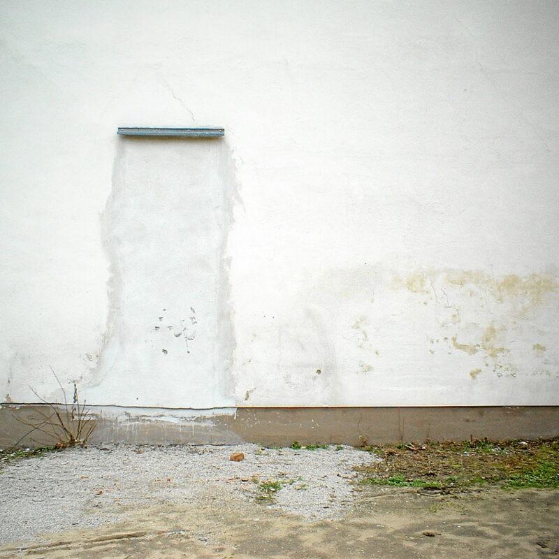 Zugemauerte Türöffnung (Nürnberg, Südstadt)