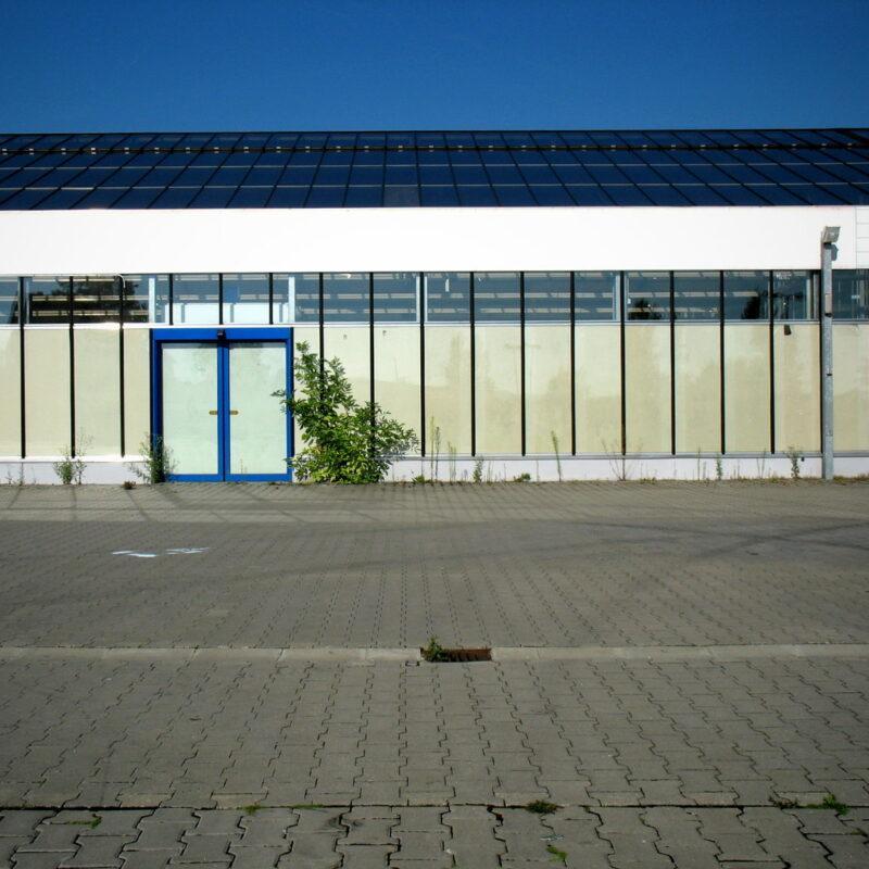 Verwaister Baumarkt in Forchheim (Oberfr)