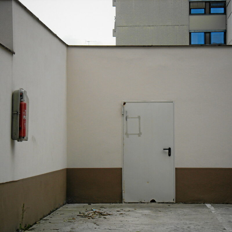 Hinterhof in der Nürnberger Innenstadt